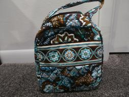 Vera Bradley Java Blue NWT Let's Do Lunch bag