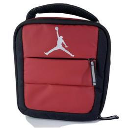 Nike Jordan Jumpman Lunch box,Bag Insulated Red/Black Tote 9