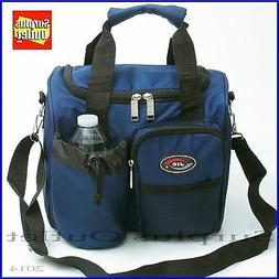 Jumbo Insulated Lunch Bag With Adjustable Shoulder Strap & R