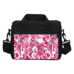 Kid Adult School Office Camo Insulated Thermal Lunch Bag Foo