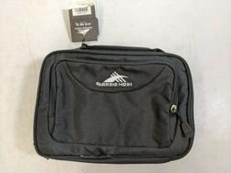 High Sierra Kids Adult Zip Lunch Box Kit Lunch Bag Unisex Bl