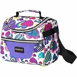 Kids Lunch Bag Insulated Box Organizer Cooler Bento Bags For