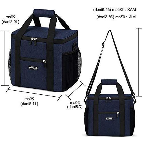 Bag Soft Cooler Tote for Camping, Leak Proof, Liter,