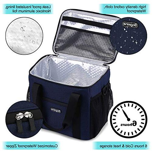 Bagmine Can Cooler Bag Insulated Cooler for Pinic Camping, Proof, 15 Liter,