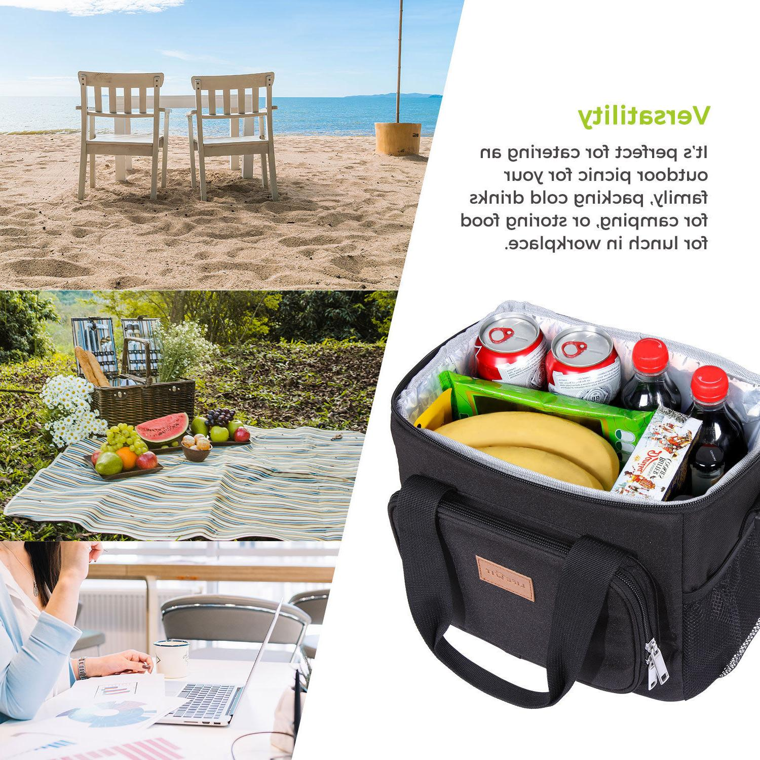 Lifewit Insulated Lunch Bag Cooler Storage for