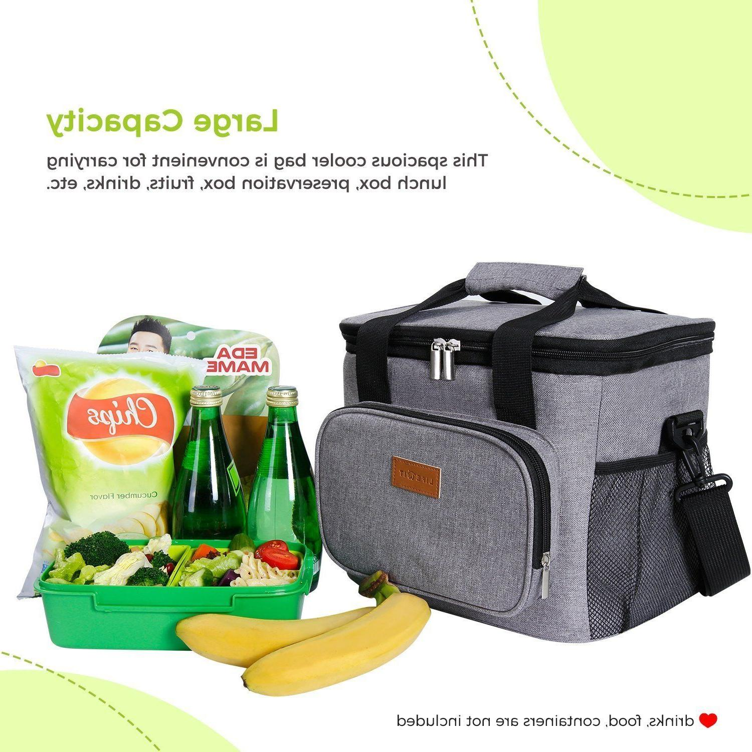 Lifewit Insulated Bag Box Cooler Storage for Beach/Picnic/Camping