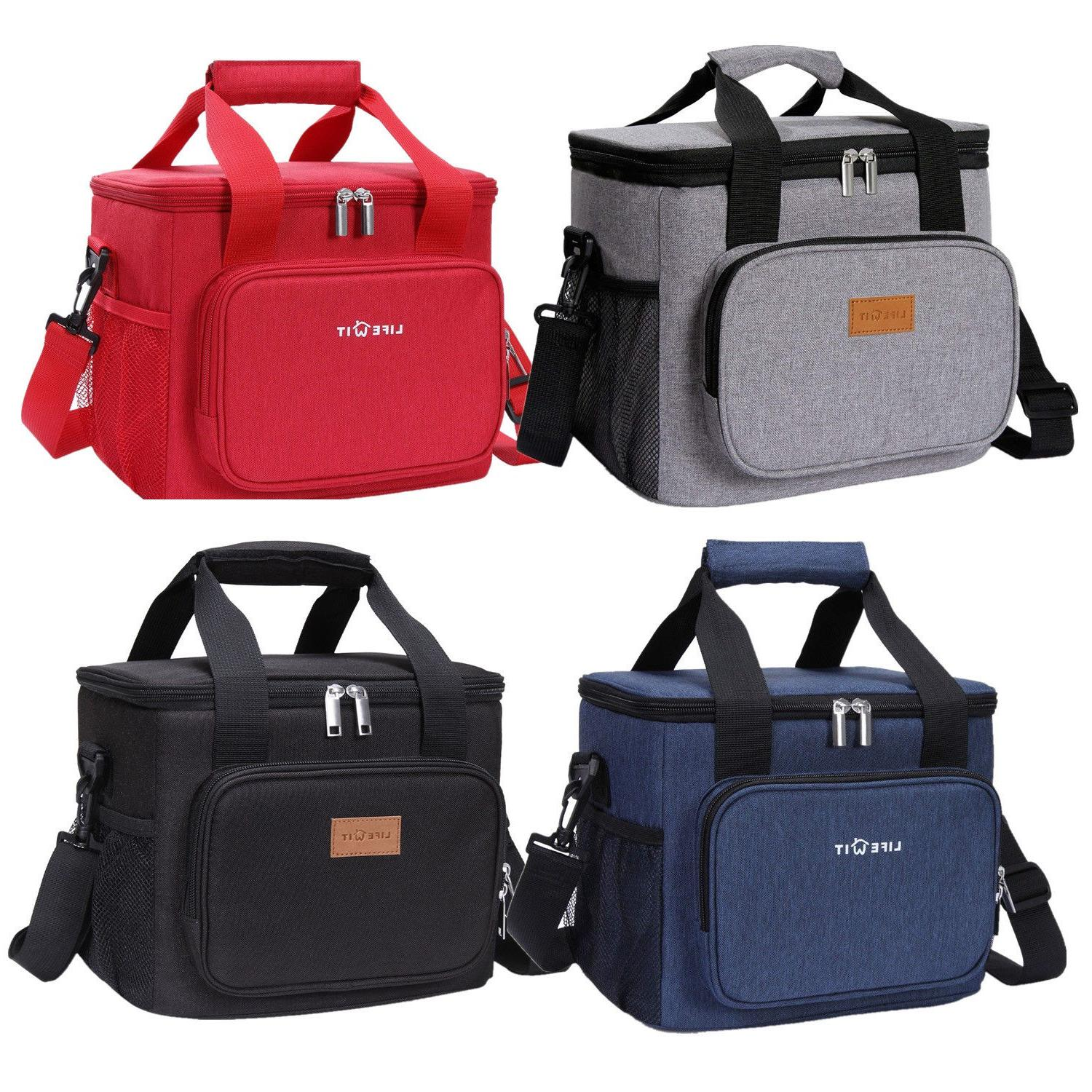 15l insulated lunch bag box cooler bag