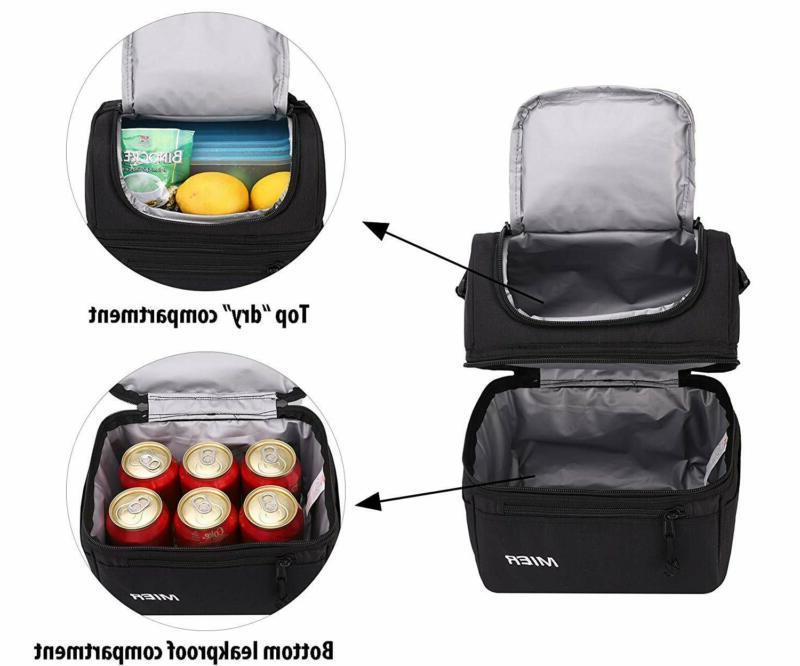 Mier Bag For Men Women, Leakproof Cooler For W
