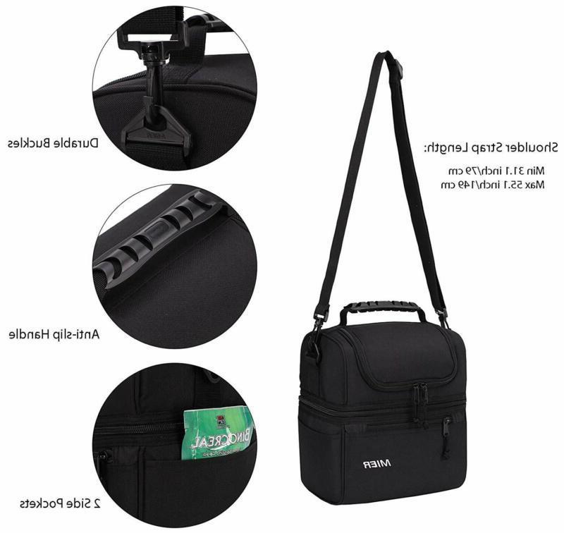 Mier 2 Bag Leakproof Cooler For