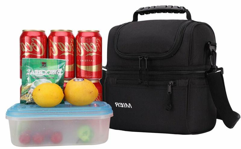Mier 2 Bag Men Leakproof Insulated Bag For W