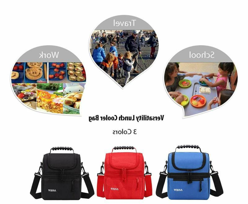 Mier Lunch Bag Men Women, Leakproof Insulated For