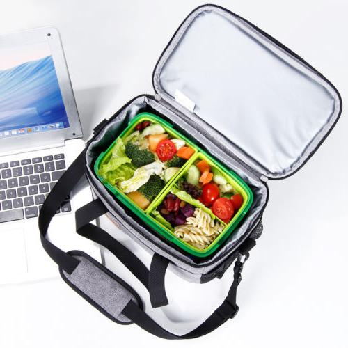 Box Lunch Bag Thermal Bento Women