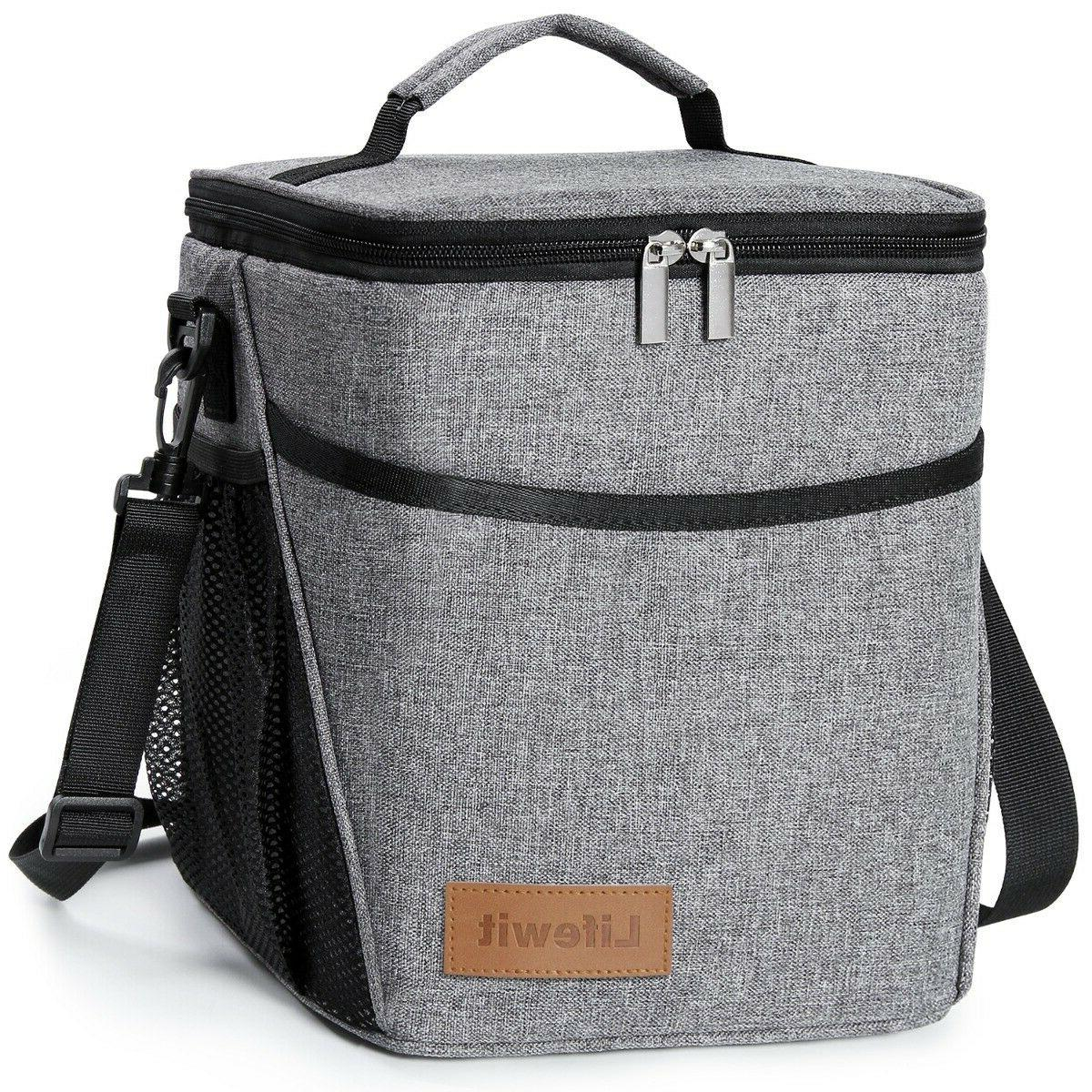 9l insulated lunch bag for women men