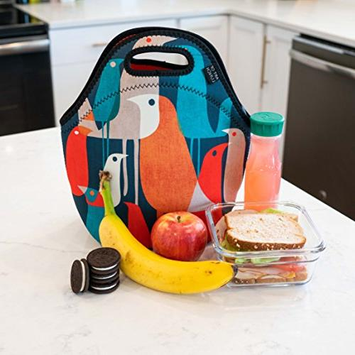 979a2dea6b1c ART OF LUNCH Insulated Neoprene Lunch Bag