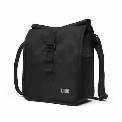 Built NY LBM02-BLK Crosstown Stain Resistant Insulated Lunch