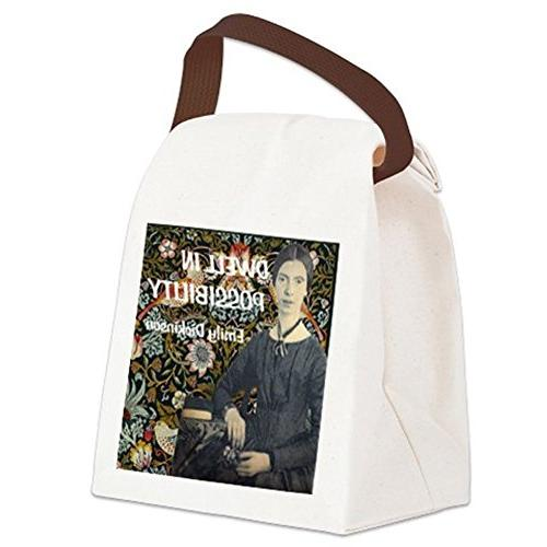 CafePress - Possibility Canvas Lunch Bag - with Strap Handle
