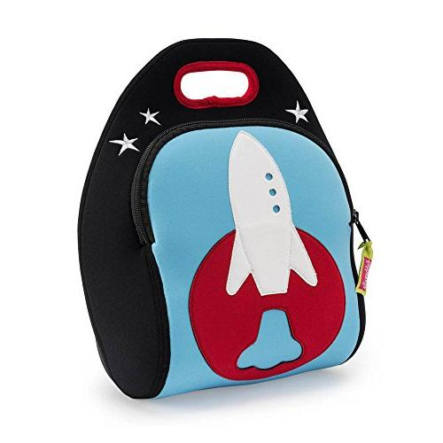 Dabbawalla Bags Out of this World Rocket Kids' Insulated Was