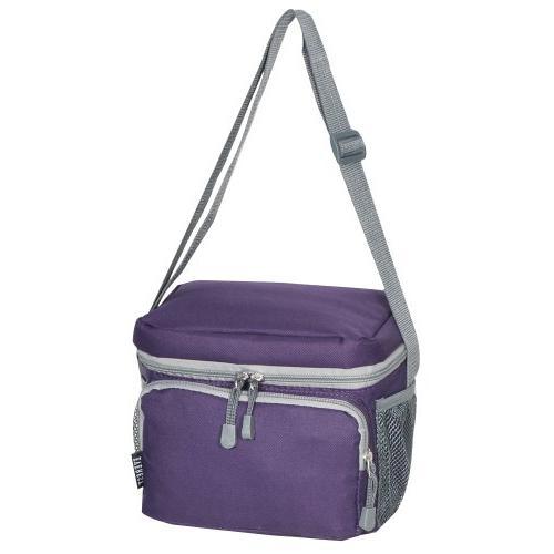 Everest Cooler Lunch Bag, Eggplant Purple, One Size