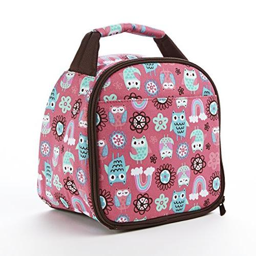 Fit & Fresh Kids' Gabby Insulated Lunch Bag with Exterior Po