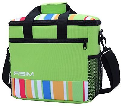MIER 24-can Large Capacity Soft Cooler Tote Insulated Lunch
