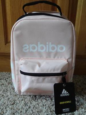 New ADIDAS SANTIAGO Insulated LUNCH BOX-BAG    *LIGHT PINK-R