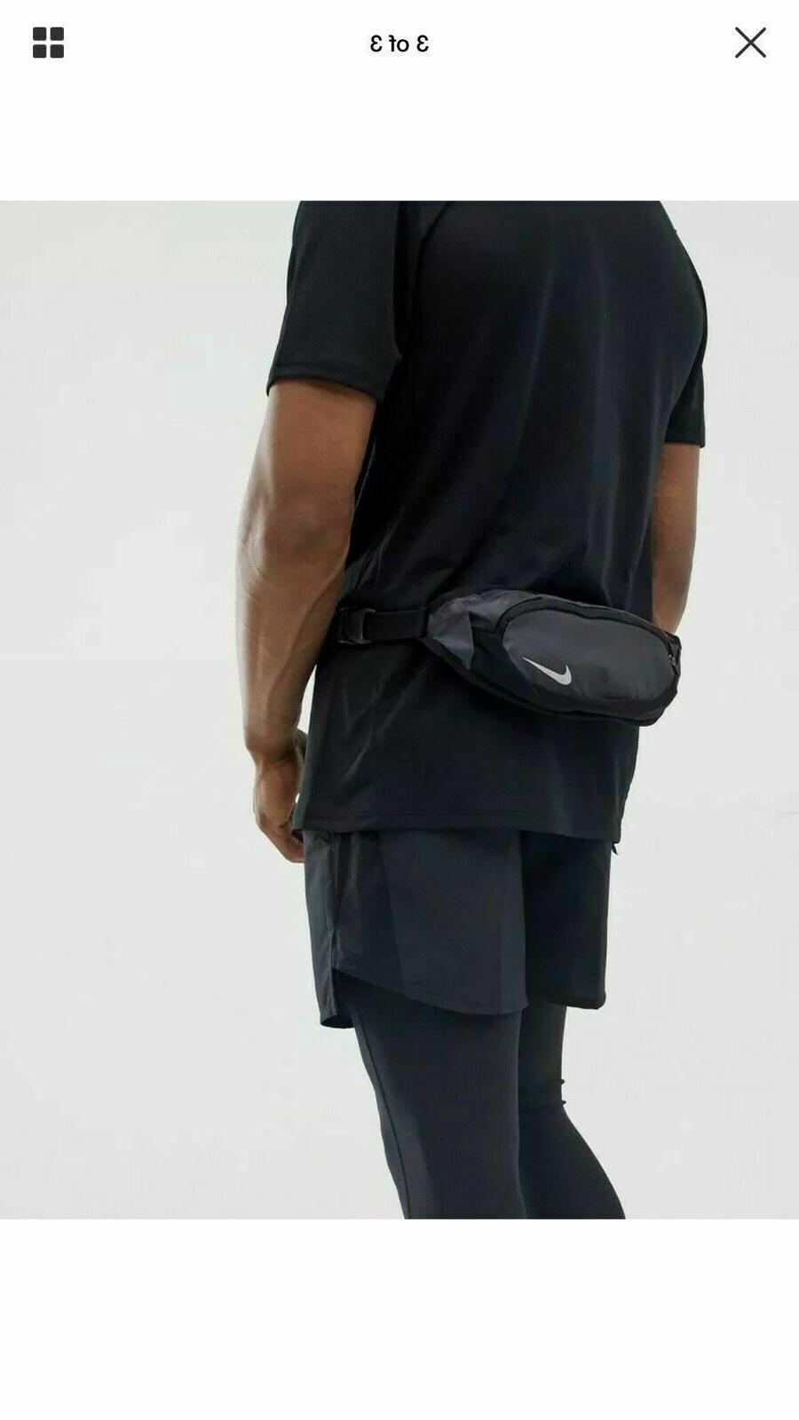 Nike Capacity Running WAISTPACK Pack Black 2 NWT