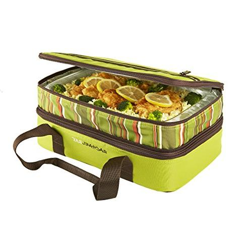 """Rachael Ray Lugger, Casserole for Potluck Picnics, Tailgates - 9""""x13"""" Dishes,"""