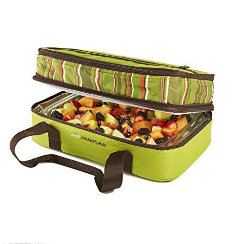 """Rachael Lugger, Double Casserole for Potluck Tailgates - Fits two 9""""x13"""""""