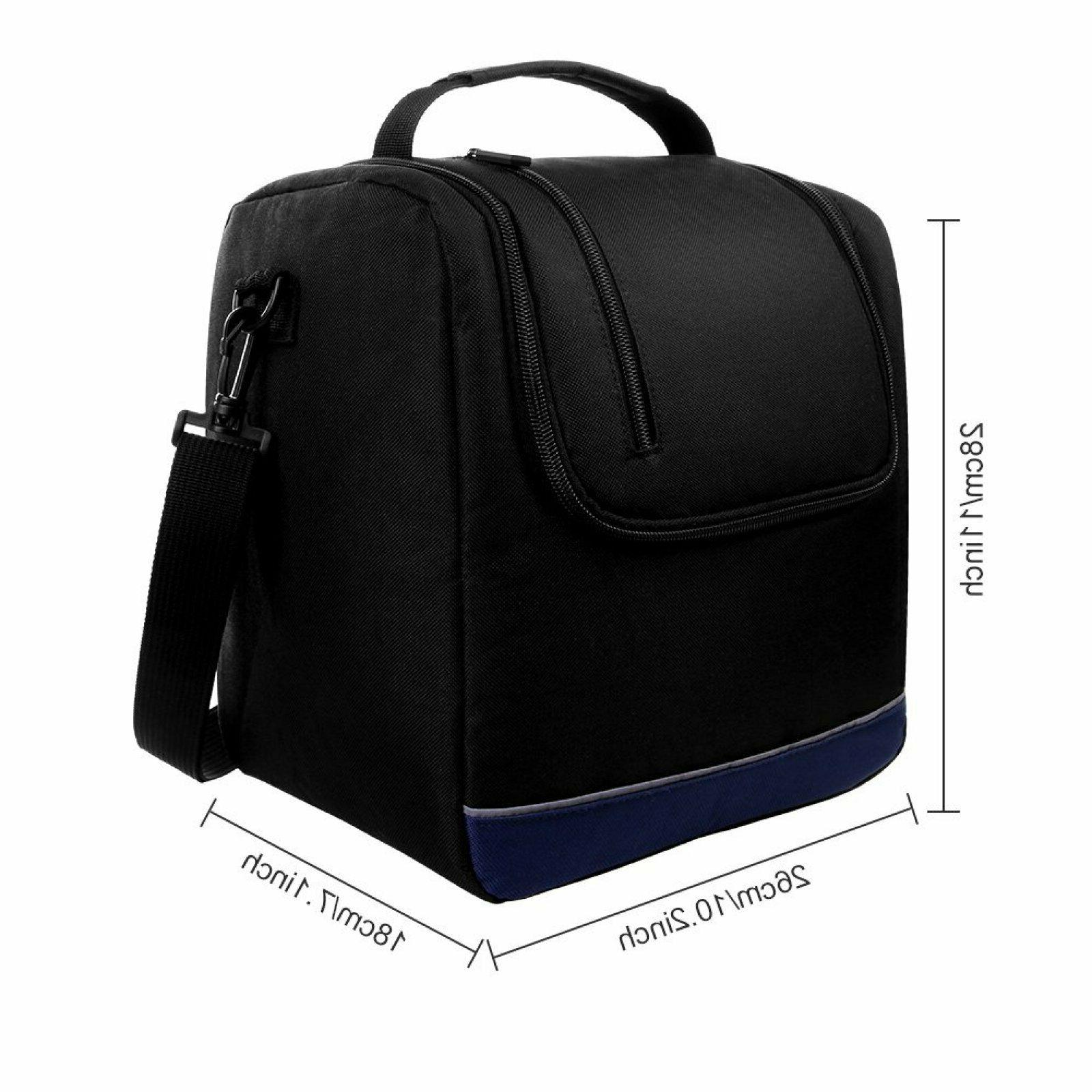 Adult Insulated Bag for Kids Work,Larger Lunch Tote