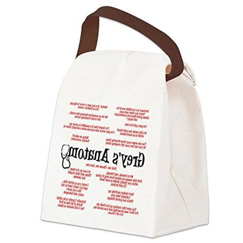 CafePress - Grey's Quotes Lunch Bag - Lunch with