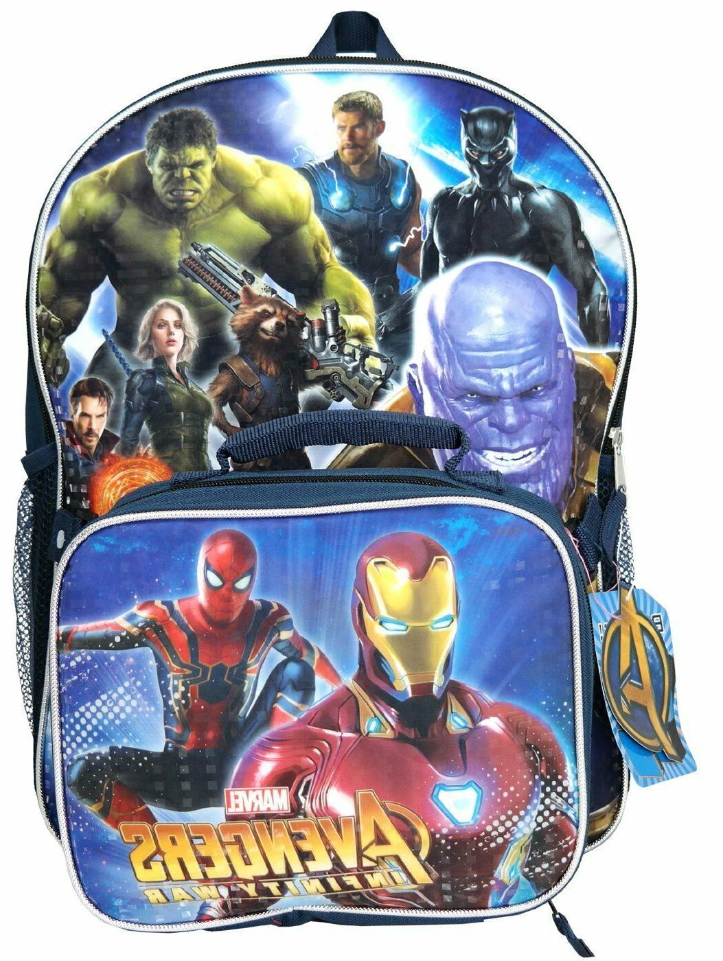 avengers endgame war boys 16 school backpack