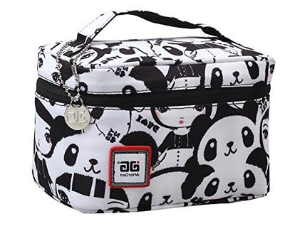 Back School Lunch Bag Panda Girl Travel Containers