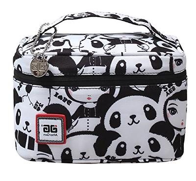 back to school lunch bag panda girl