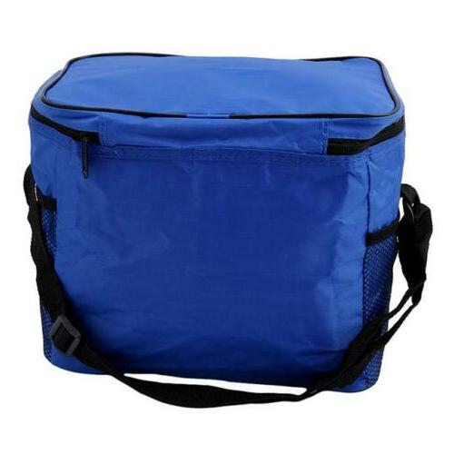 Big Insulated Lunch Bag for Men Cooler Picnic Storage J