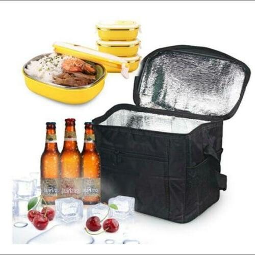 big insulated lunch bag for women men