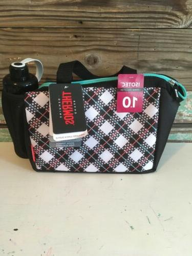 brand insulated lunch duffle bag with water