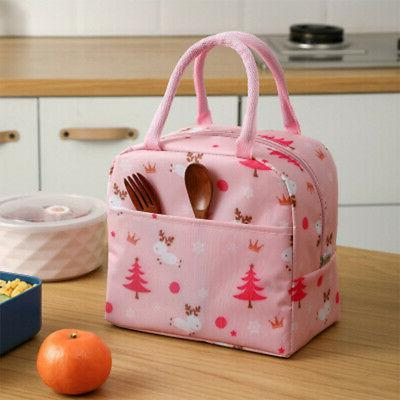 Children Kids Adult Bags Cool Picnic Bags Lunch Box ^