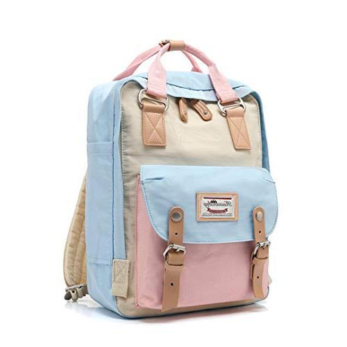 College Waterproof Backpack For Teenage Ladies School Backpacks Top Laptop Travel 11