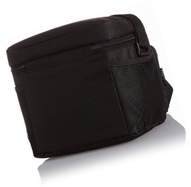 Everest Lunch Bag, Black, One Size