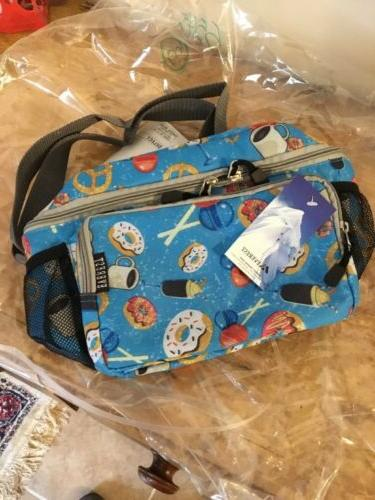 cooler lunch pattern bag tote