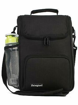 InsigniaX Crossbody Lunch Bag Cool Back to School Lunch Box