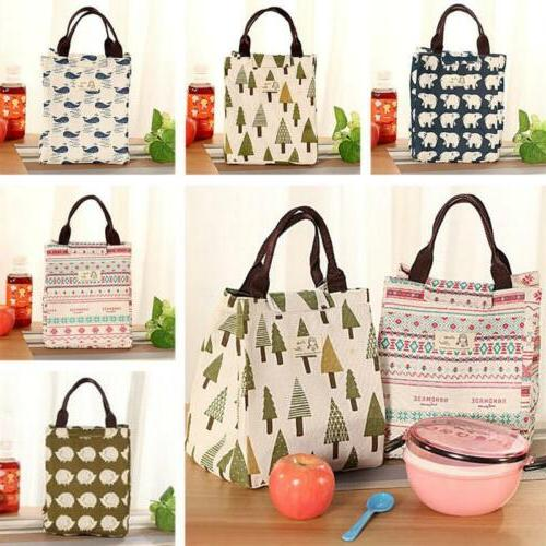 Women Lunch Bag Tote Insulated Box Case Package Organizer Ki