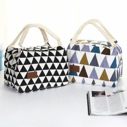 Cute Ladies Girls Bag Box Picnic Tote Cooler