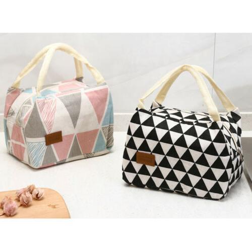 Cute Girls Kids Lunch Bag Box Cooler