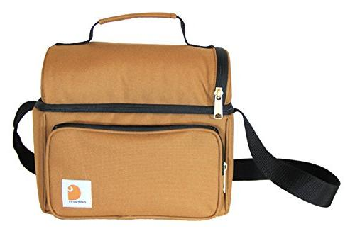 Carhartt Deluxe Insulated Lunch Cooler Carhartt Brown