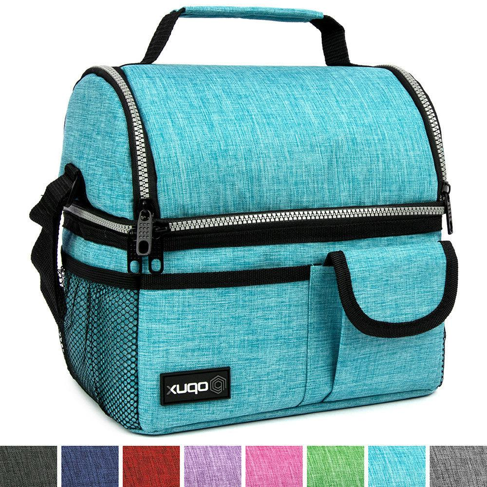 OPUX Deluxe Insulated Dual Compartment Bag