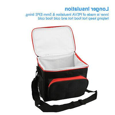 Insulated Lunch Cooler For Kids Adults Tote Food Lunch Box