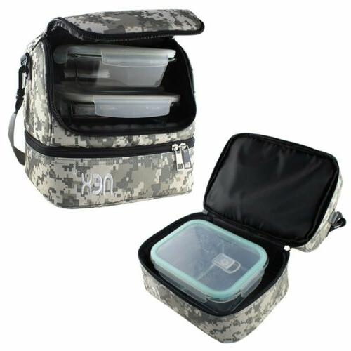 Insulated Lunch Lunch Bag for Women Camouflage Color