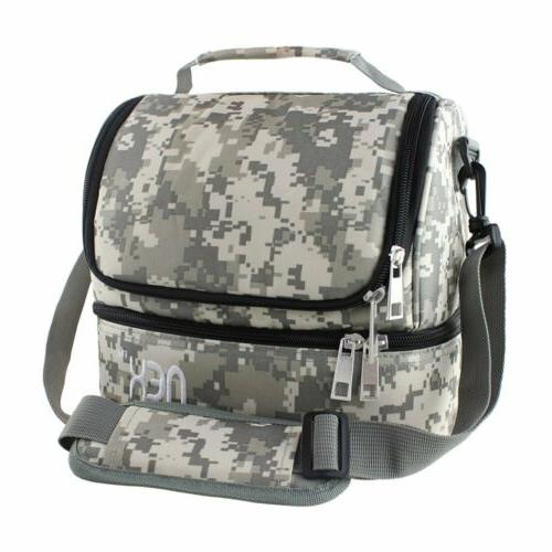 lunch bag double cooler carry bag travel