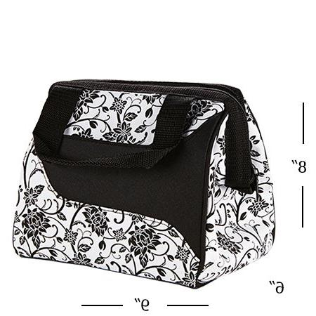 Fit & Downtown Insulated Lunch Bag, Ebony, ea